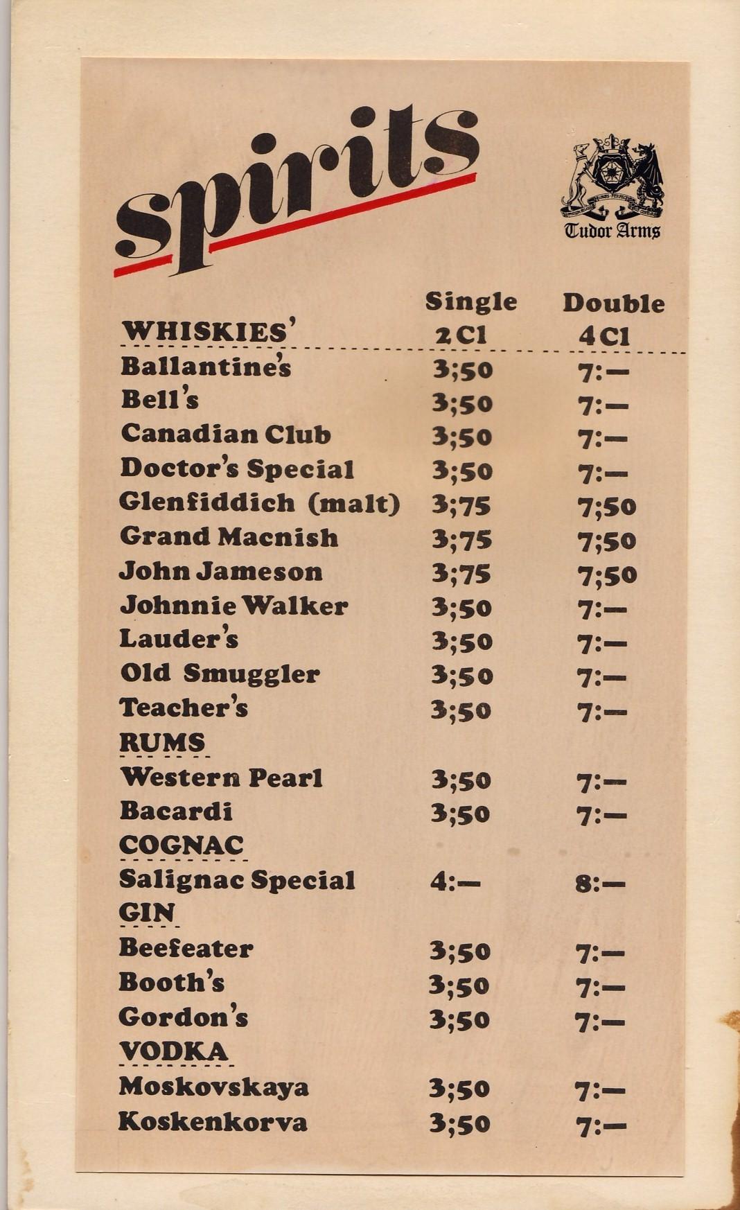 tudor menu template - drink list related keywords suggestions drink list